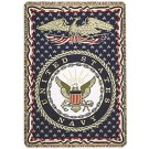 "United States Navy 50"" x 70"" Three Layer Throw Blanket From Simply Home"