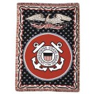 "United States Coast Guard 50"" x 70"" Three Layer Throw Blanket From Simply Home"