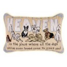 """Heaven Is The Place"" 9"" x 12"" Tapestry Word Pillow From Simply Home"
