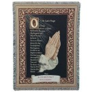 """Lord's Prayer"" 50"" x 70"" Full-Size Tapestry Throw Blanket From Simply Home"