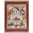 """Rodeo"" 50"" x 60"" Tapestry Throw Blanket From Simply Home"