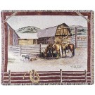 """Ranch Life""  by Pat Lehmkuhl 50"" x 60"" Tapestry Throw Blanket From Simply Home"