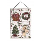 """Traditions Of Christmas"" 17"" x 26"" Holiday Wall Hanging From Simply Home"