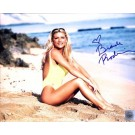 "Brande Roderick Autographed ""Baywatch Sitting on Beach"" 8"" x 10"" Color Photograph (Unframed)"