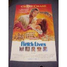 "Chevy Chase Autographed Original ""Fletch Lives"" Movie Poster"