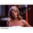 "Cindy Morgan Autographed ""Dinner Time"" 8"" x 10"" Photograph (Unframed)"