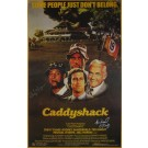 Cindy Morgan and Michael O'Keefe Autographed Caddyshack Poster