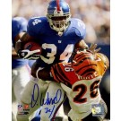"Derrick Ward New York Giants Autographed 8"" x 10"" Photograph (Unframed)"