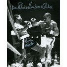 "Rubin ""Hurricane"" Carter and Emile Griffith Autographed Black and White 8"" x 10"" Photograph (Unframed)"