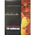 Hurricane Carter Autographed Hurricane Movie Poster