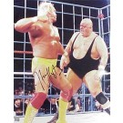 "Hulk Hogan Autographed ""vs. King Kong Bundy"" 16"" x 20"" Photograph (Unframed)"