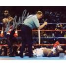 "Hasim Rahman Autographed ""Knock Out Lennox Lewis"" 8"" x 10"" Photograph (Unframed)"