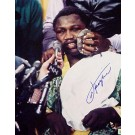 "Joe Frazier Autographed ""Icepack"" 16"" x 20"" Color Photograph (Unframed)"