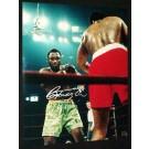 "Joe Frazier Autographed ""Ali / Frazier I Standing"" 16"" x 20"" Color Photograph  (Unframed)"