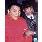 "Joe Frazier Autographed ""Peace of History"" Ali / Frazier Make-Up 2/10/02 16"" x 20"" Color Photograph  (Unframed)"