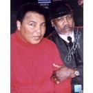 "Joe Frazier Autographed ""Peace of History"" Ali / Frazier Make-Up 2/10/02 16"" x 20"" Color Photograph  (Unframed)"