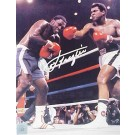 "Joe Frazier Autographed ""Ali / Frazier III Thrilla In Manilla"" 16"" x 20"" Color Photograph (Unframed)"