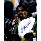 "Joe Frazier Autographed ""Icepack"" 8"" x 10"" Color Photograph  (Unframed)"