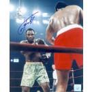 "Joe Frazier Autographed ""Ali / Frazier I Standing"" 8"" x 10"" Color Photograph  (Unframed)"