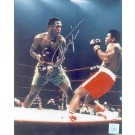 "Joe Frazier Autographed ""Ali / Frazier I Knockdown"" 8"" x 10"" Color Photograph  (Unframed)"