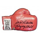 Jake LaMotta Autographed Everlast Boxing Glove (Single Glove)