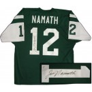 Joe Namath Autographed New York Jets Authentic Jersey