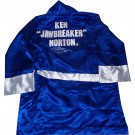 Ken Norton Autographed Everlast Blue Robe