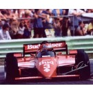 "Mario Andretti Autographed ""Budweiser Car Front"" 8"" x 10"" Photograph (Unframed)"