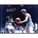 "Magic Johnson Autographed ""NCAA with Bird"" 8"" x 10"" Color Photograph (Unframed)"