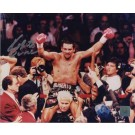 "Roberto Duran Autographed ""Celebration"" 8"" x 10"" Photograph (Unframed)"