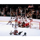 "1980 Team USA Olympic Hockey Celebration 16"" x 20"" Photograph (Unframed)"
