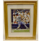 Mark McGwire Framed and Matted 8 x 10 Autographed Color Photograph (Oakland Athletics)