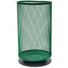 20 Gallon Spike Mount Stainless Steel Litter Caddie