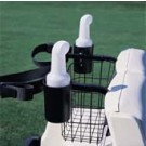 Cart-Mounted Seed and Soil Caddie