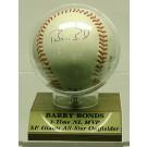 Barry Bonds, San Francisco Giants Autographed Baseball
