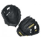 "11 1/4"" A2000® Infield Black Glove from Wilson (Worn on the Left Hand)"