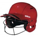 The Collegiate Batting Helmet with Softball Face Mask