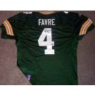 Brett Favre Autographed Green Bay Packers Reebok Authentic Green Jersey
