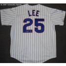Derrek Lee Chicago Cubs Autographed Replica Majestic Athletic MLB Baseball Jersey (Home)