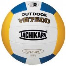 Tachikara Outdoor Super Soft Composite Leather Beach Volleyball (Gold / White / Royal) by