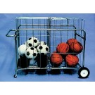 Double Basket Portable Carrier with Wheels