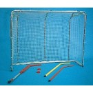 "52""H x 66""W x 18""D Large Hockey Goals - 1 Pair"