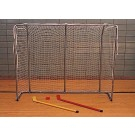 "46""H x 58""D x 18""D Mid-Size Hockey Goals - 1 Pair"