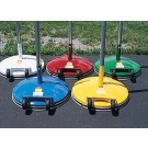 Multi-Use Standard 180 lb. Base, 10' Pole and 2 Ring Slides