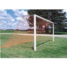 "24'W x 8'H Permanent Soccer Goal - 4"" x 4"" Painted Steel (One Pair)"