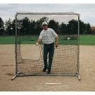 Underhand Pitching Net for Heavy Duty Multi-Purpose Frame