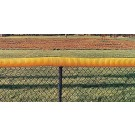 100' Yellow Fence Protector