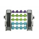 20 Cardio Pump Sets and Rack from TKO Sports by