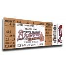 John Smoltz 3,000 Strike Out Mega Ticket