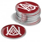 Alabama A & M Bulldogs Golf Ball Marker (12 Pack)